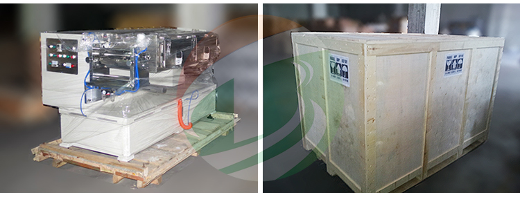 Coating machine Packing