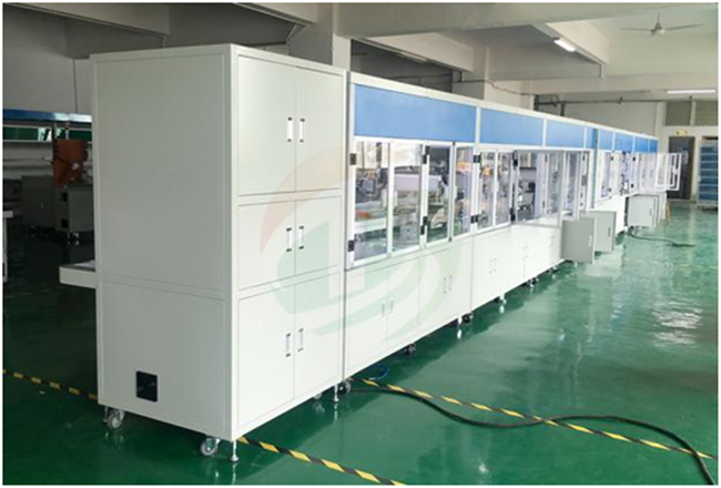 battery pack production line